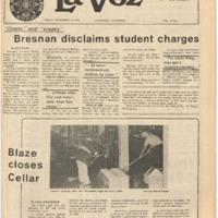 De Anza La Voz November 19 1976