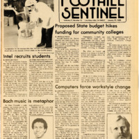 Foothill Sentinel January 25 1985