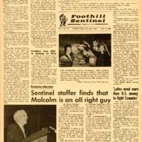 Foothill Sentinel November 16 1962
