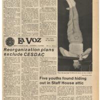 De Anza La Voz January 20 1978