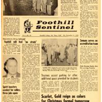 Foothill Sentinel December 11 1959